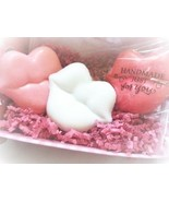 valentines gifts, valentines, valentines soaps, soap, beauty, gifts, bat... - $9.00