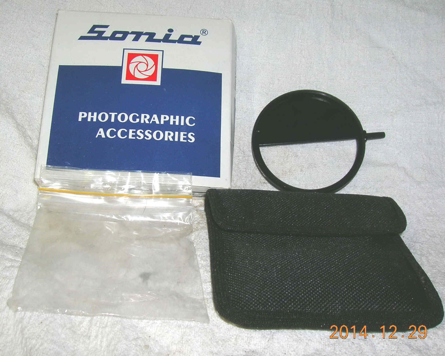 Sonia screw-in double exposure filter, image splitter, double mask - many sizes
