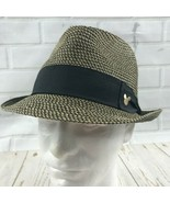 Disney Parks Mickey Mouse Fedora Hat One Size Fits All Adults Banded Woven  - $19.79