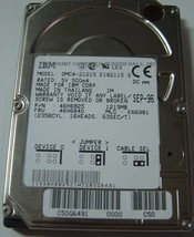 IBM DMCA-21215 46H6825 RARE 1.2GB 2.5IN IDE Drive Tested Good Free USA S... - $49.95