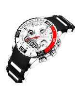 Readeel Military Sports Men Alarm Waterproof LED Light Digital Analog Watch - $19.99