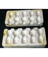 1975 Duncan Ceramic Mold Beads Ornaments Decor  - $18.99