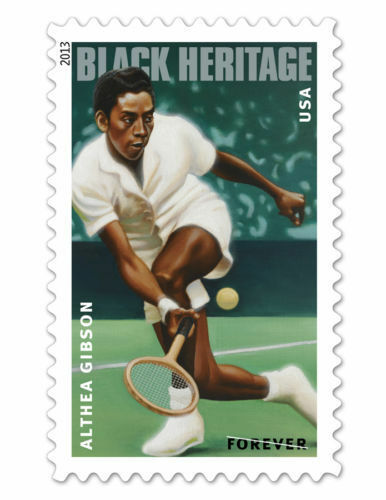 Primary image for 2013 46c Althea Gibson, American Tennis Player & Golfer Scott 4803 Mint F/VF NH