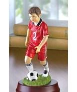 Soccer Player Alabastrite Figurine Statue  NIB - $16.99