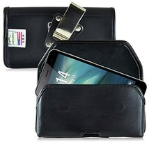 Turtleback Belt Case Made for Verykool Maverick, Juno, Juno Quatro Black... - $29.99