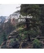1993 Jeep CHEROKEE sales brochure catalog CANADA 93 - $8.00
