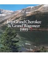 1993 Jeep GRAND CHEROKEE WAGONEER sales brochure catalog CANADA 93 - $8.00