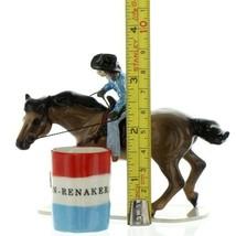 Hagen Renaker Specialty Horse Rodeo Barrel Racer Ceramic Figurine image 2