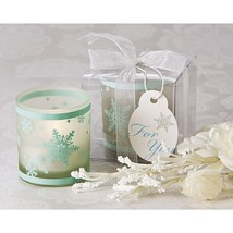 Winter Lights Snowflake Votive Tea Light Candle Holder (Pack of 48) - $105.95