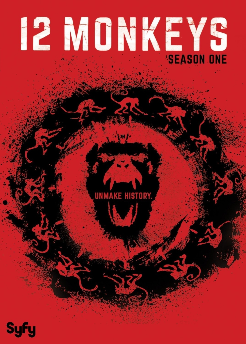 12 monkeys first season one 1  dvd 2016 3 disc  aaron stanford  amanda schull