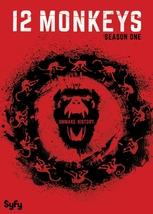 12 monkeys first season one 1  dvd 2016 3 disc  aaron stanford  amanda schull thumb200