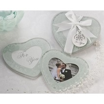 Heartfelt Memories Frosted Heart Photo Coaster ... - $43.95