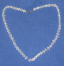 Antique Aurora Borealis Glass Bead Necklace 1920's - $138.83