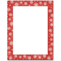 Snowy Flakes Letterhead - 160 Sheets - $38.99