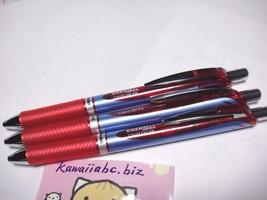 Pentel ENERGEL EURO Pen Gel Ink  0.5mm  RED  3 ... - $12.59