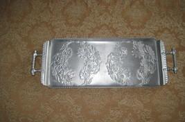 Vintage Hammercraft Aluminium Rectangle Serving Tray   - $13.01