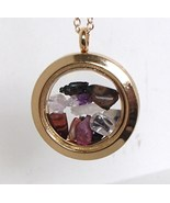 Gemstones Living Memory Altered Round Golden Gl... - $16.99
