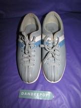 Blue With Stripe Striker Bowling Shoes Women's Size 5 1/2 Chrome Slider ... - $29.69