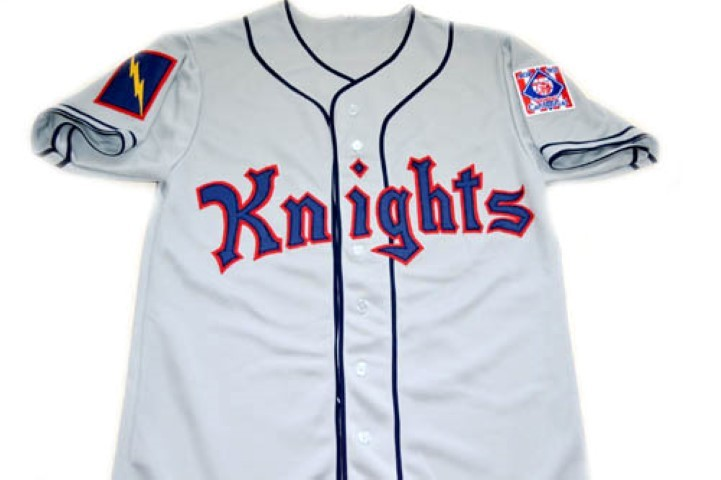 Roy Hobbs #9 New York Knights Button Down New Men Baseball Jersey Grey Any Size