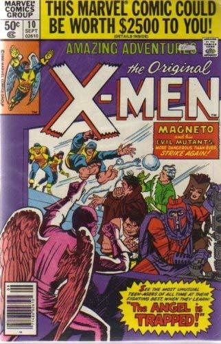 Amazing Adventures Featuring the X-men No. 10 [Comic] [Jan 01, 1980] Marvel Comi