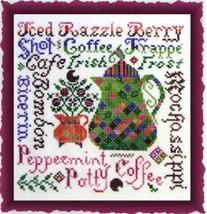 Razzleberry Roast cross stitch chart Tempting Tangles - $10.80