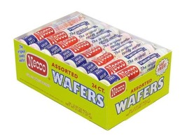 Necco Assorted Candy Wafer 24 ct - $18.80