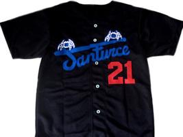 Clemente #21 Santurce Crabbers Puerto Rico New Baseball Jersey Black Any Size image 3