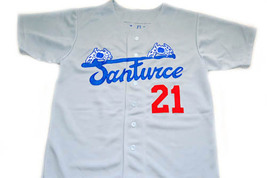 Clemente #21 Santurce Crabbers Puerto Rico New Men Baseball Jersey Grey Any Size image 3