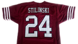 Stilinski #24 Beacon Hills Lacrosse Jersey Teen Wolf TV Serie Maroon Any Size image 5