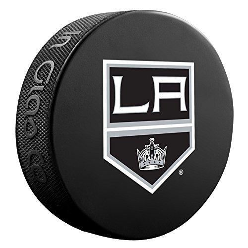 Los Angeles Kings Basic Logo Souvenir Hockey Puck By Sher-Wood - $2.39