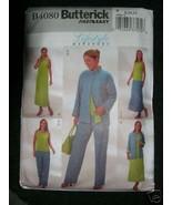 Butterick Pattern 4080 Womens 8-10-12 JACKET DRESS TOP SKIRT and PANTS - $5.95