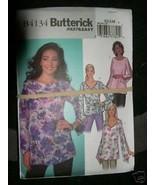 BUTTERICK PATTERN 4134 Sz XS-S-M Pullover TOP + BELT LADIES Misses Pullo... - $5.95