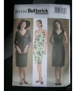 BUTTERICK PATTERN 4446 Sz 6-8-10-12 VEST, JACKET, DRESS Misses Petite Fa... - $5.95