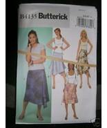 BUTTERICK PATTERN 4135 Sz 12-14-16 SKIRTS LADIES MISSES Side Zipper New ... - $5.95