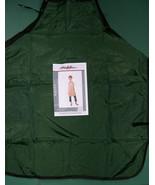 HAIR SALON BEAUTY SHOP STYLIST BARBER NYLON HUNTER GREEN APRON +PERSONAL... - $20.99