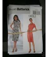 BUTTERICK PATTERN 4185 Sz 14-16-18 DRESS Close Fitting Below Knee LADIES... - $5.95