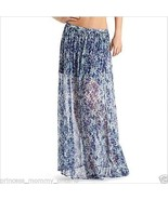 NWT $128 GUESS by Marciano Skirt Maxi Long Chif... - $42.30