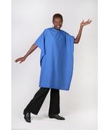 ROYAL BLUE NYLON CUTTING CAPE PERSONALIZED HAIR SALON SHOP STYLIST BARBE... - $24.99