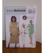 Butterick Pattern 4082 Womens Misses 16w-18w-20w JACKET, SKIRT Uncut Sem... - $5.95