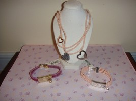 Nine & Company Cord Necklace & 2 Bracelets - $18.99