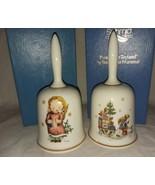 1979 and 1980 Authentic Art of Berta Hummel Bells W Germany Schmid Xmas ... - $19.99