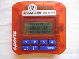 Buzztime Head-On Challenge SPORTS Wireless by Cacacor Hand Held Game Trivia - $9.79