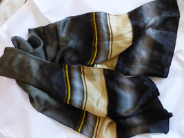 VTG ECHO Silk Neck Scarf 11.5x52 - $17.82