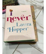 I never by Laura Hopper hardcover book - $13.06