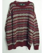 Hunt Club Sweatshirt Size XL 46-48 Multicolor 100% Cotton Sweater Men's - $21.37