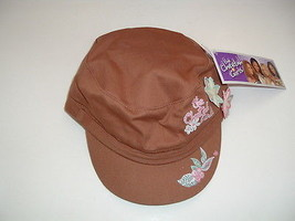 Disney The Cheetah Girls brown  cadet cap hat with tags - $4.95
