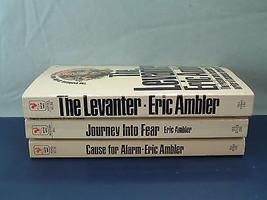 Vintage Eric Amber 3 PB  spy suspense book lot - $12.82