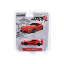 Toyota FT-1 Concept Red JDM Tuners 1/64 Diecast Model Car by Jada 14036-TOY - $19.71