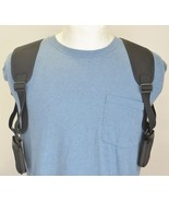 "Shoulder Holster For Two Cell Phones - PHONES UP TO 5 1/2"" TALL AND 3"" WIDE - $34.55"