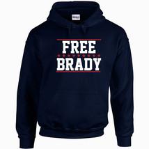 277 Free Brady Hoodie football deflate gate new england quarterback mvp vintage - $30.00+